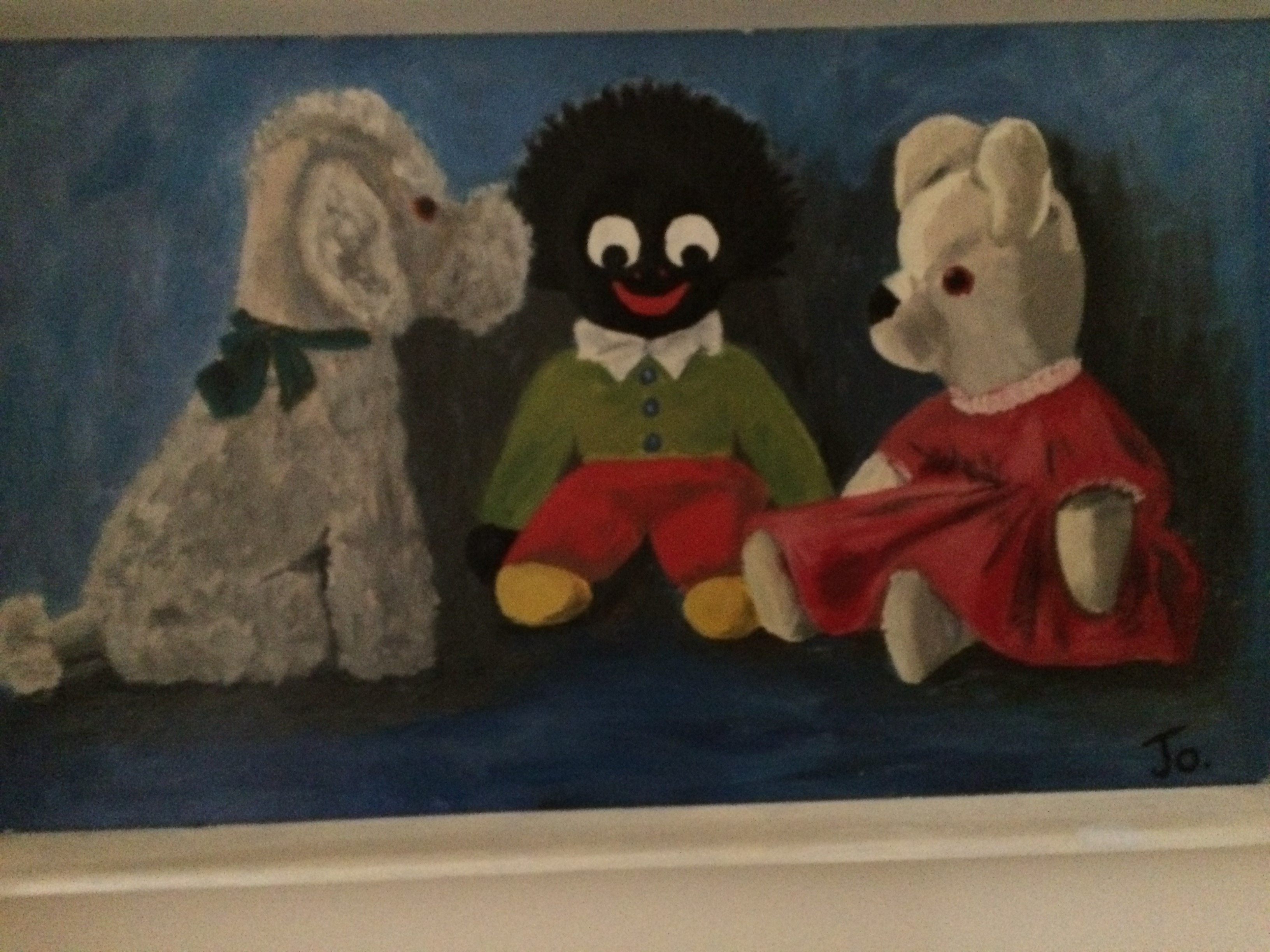Poodle and Golliwog